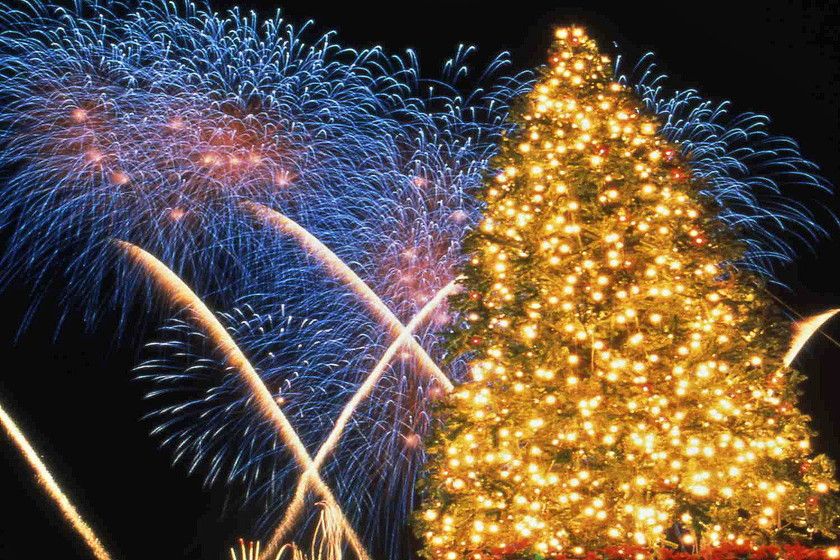 別府 冬 お祭り クリスマスファンタジア